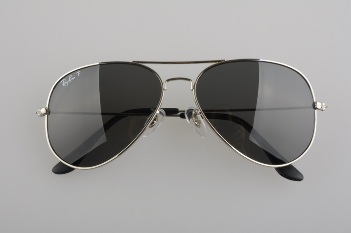 ray ban silver glass aviator  ray ban aviator silver frame